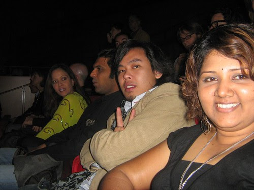 At the PRIDE AND GLORY premiere at Rome Film Fest