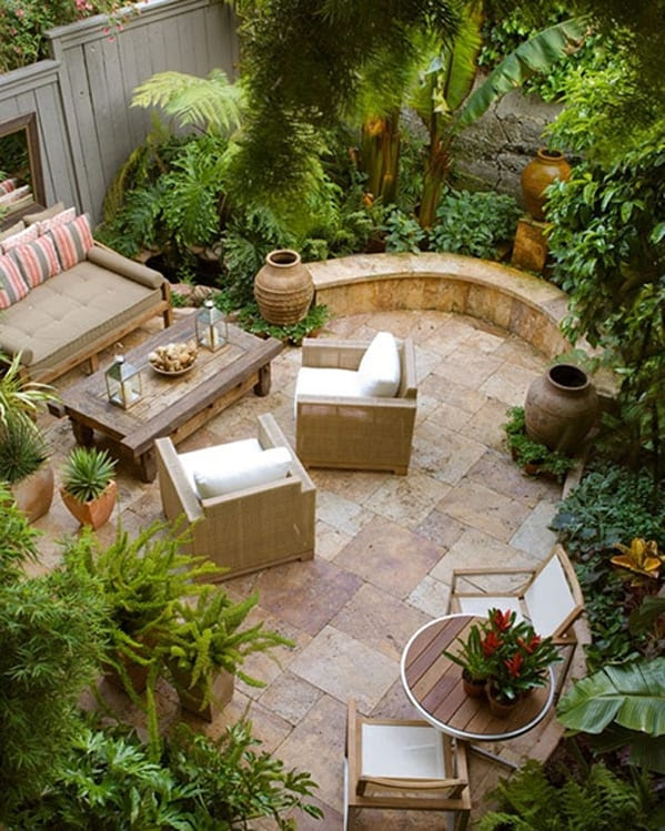 Indoor Courtyard Landscaping Ideas Make Home Landscaping
