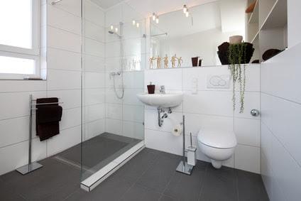Travertin verlegen anleitung: Keine fliesen im badezimmer