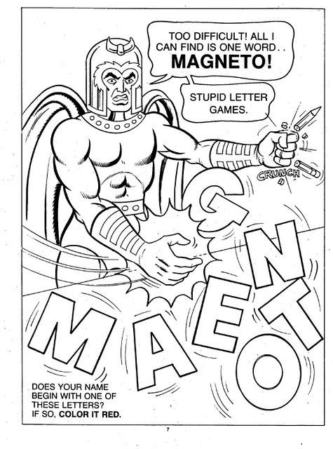 X-Men Super Activity Book00008