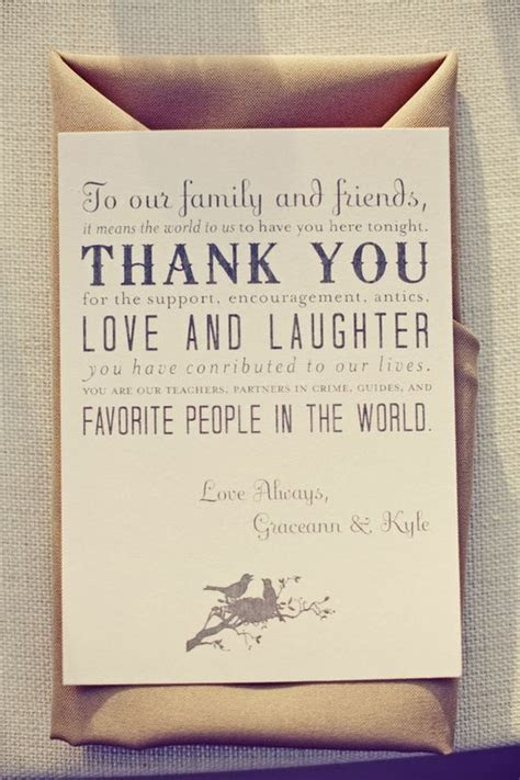 Wedding Etiquette: Thank You Notes for Your Guests