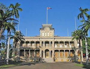 El Palacio ʻIolani, formalmente fue la capital de la República de Hawái.