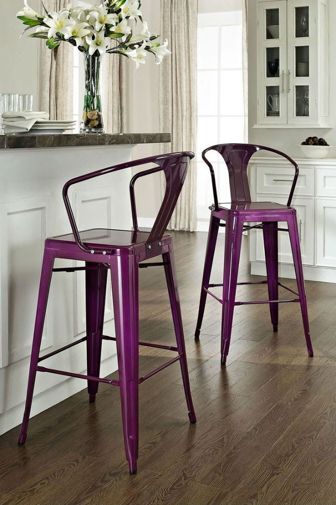Interior Design Tips: Where to place Metal Chairs