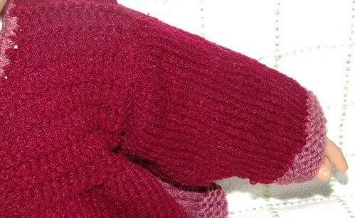 left arm front