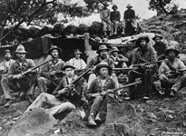 A Boer picket on Spion Kop, Ladysmith (Getty Images/Hulton|Archive)