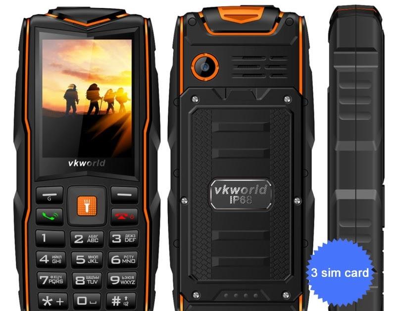 Buy Original VKworld New Stone V3 3 SIM Card IP68 Waterproof