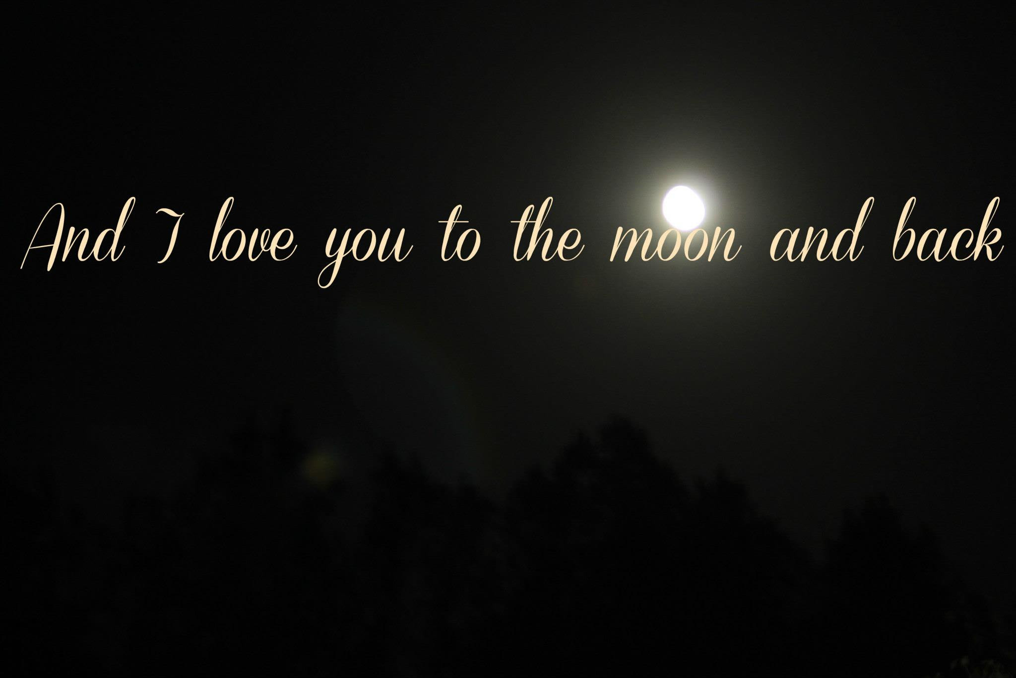 Romantic Quotes About The Moon Quotes