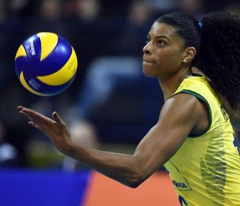 Brasil República Dominicana vôlei Fernanda Garay (Foto: Divulgação/CBV)