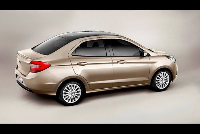 Nuevo Ford Ka Concept 2014 Mundoautomotor | 2016 - 2017 Best Cars