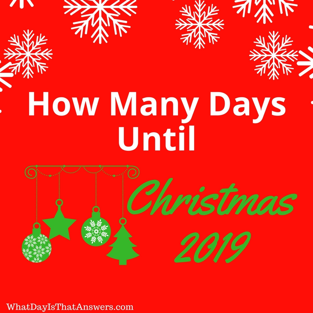 The Best How Many Days Till Christmas