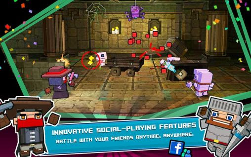 Screenshots of the Demon blitz for Android tablet, phone.