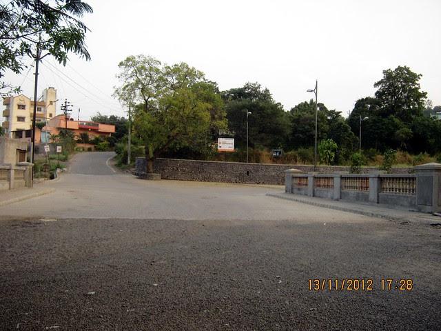 Bridge on the river RamNadi - Visit SKYi Songbirds at Bhugaon, on Paud Road, Pune 411042