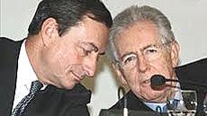 Draghi e Monti