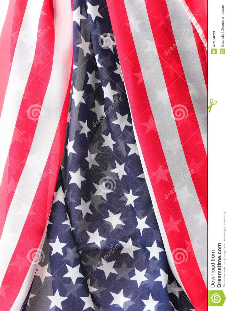 Decoration In American Flag Style Stock Photo  Image: 41974093