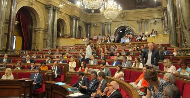 Pleno del Parlament  EUROPA PRESS