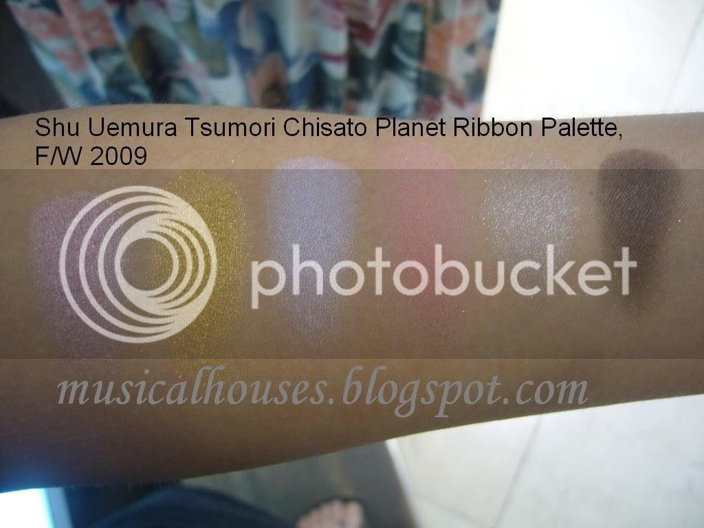 Shu Uemura Tsumori Chisato Planet Ribbon Palette