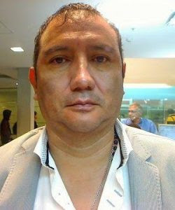 Edilberto Fernández Vargas, esposo de Diana.