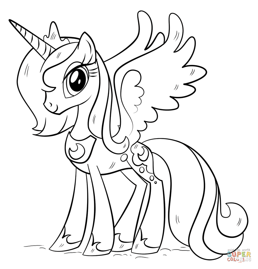 720 Top My Little Pony Coloring Pages Free Download Images & Pictures In HD