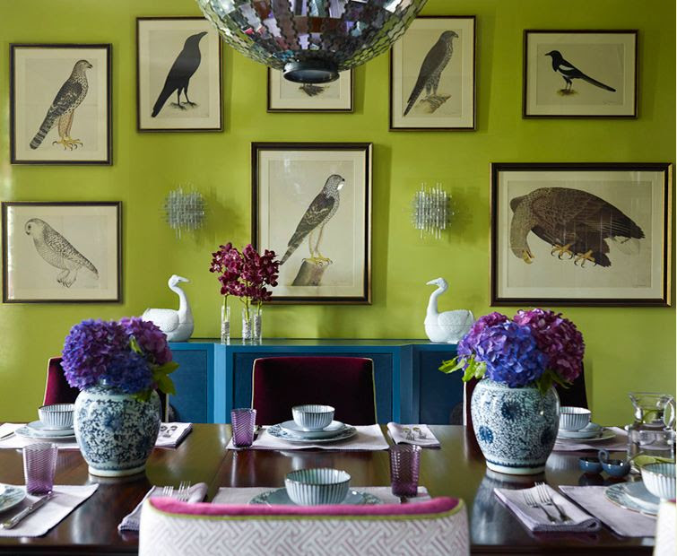 Color Inspiration - Purple, Green and Teal