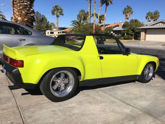 Porsche 914 Gt Style V8 Powered Raveena Green For Sale