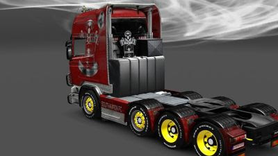 2014-01-20-Southampton Saints Skin for Scania-2s