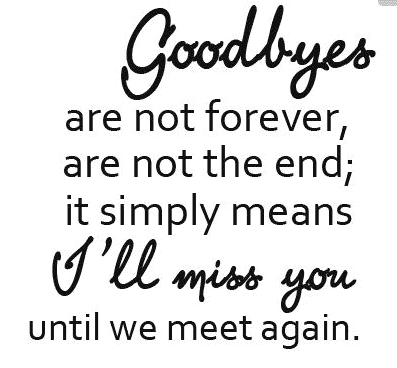Image result for say goodbye