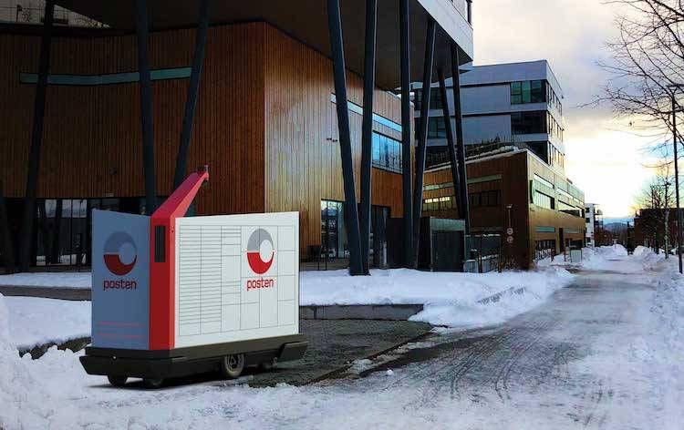 美国警局购买炸弹机器人 挪威邮政雇用机器人发送信件