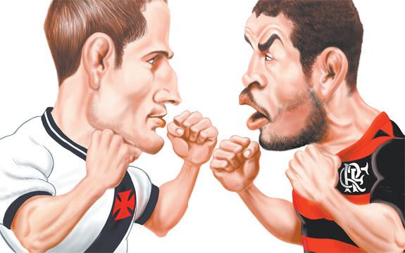 Resultado de imagem para rivalidade vasco e flamengo