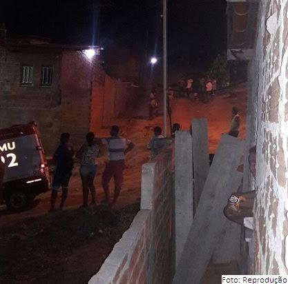 Rua onde os dois menores foram mortos
