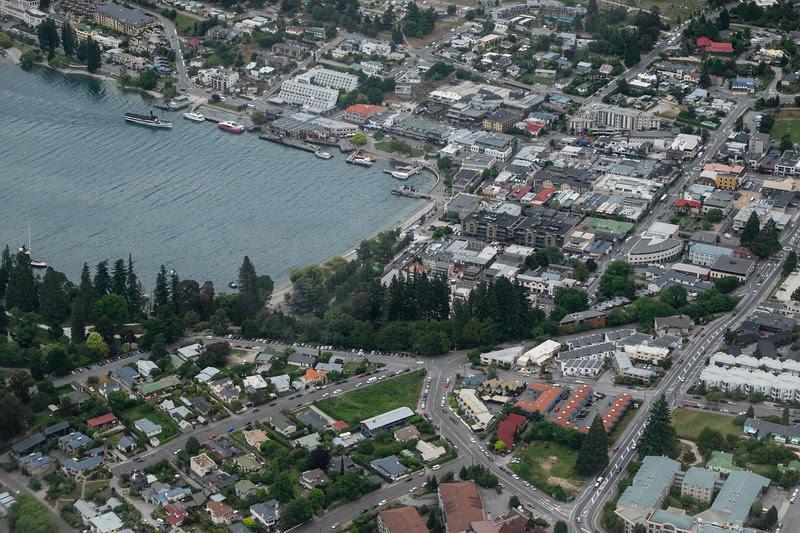 Queenstown aerial
