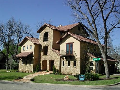 Rob sanders designer custom home remodel design for Hill country house plans luxury