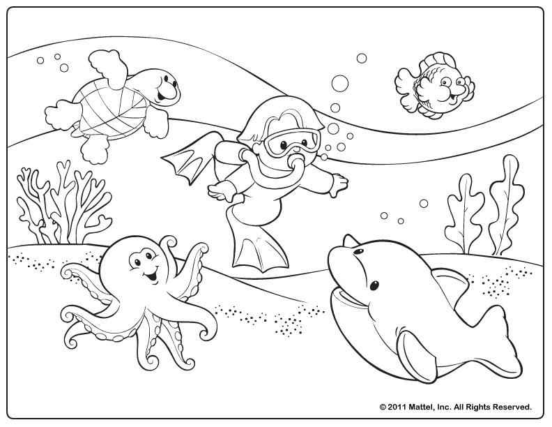 Free Summer Coloring Pages Coloringnori Coloring Pages For Kids