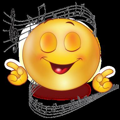 Image result for singing emoji