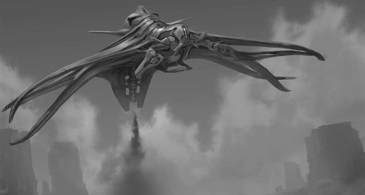 concept ships: Concept ship from Cowboys And Aliens by ... Cowboys And Aliens Alien Ship