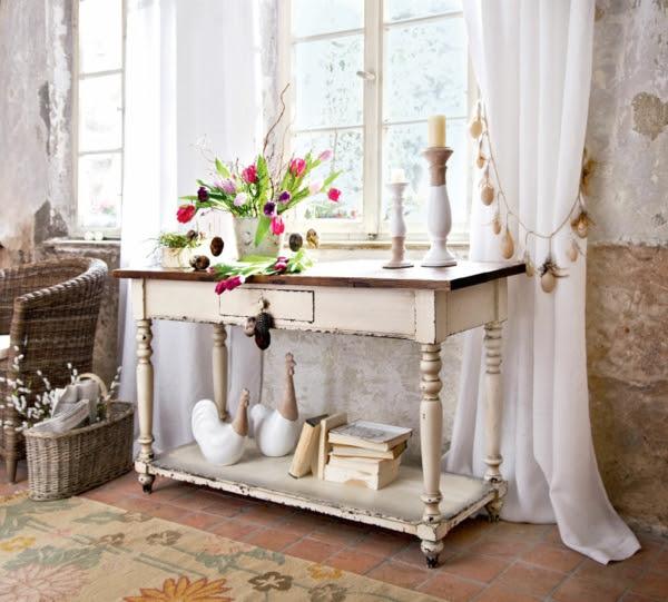 deko landhausstil wohnzimmer, kleid: landhaus deko, Design ideen