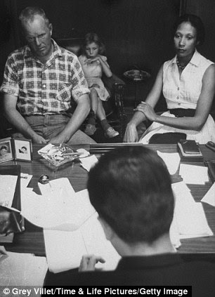 Questions: Mildred and Richard Loving speak with their American Civil Liberties Union (ACLU) lawyer, May 1965