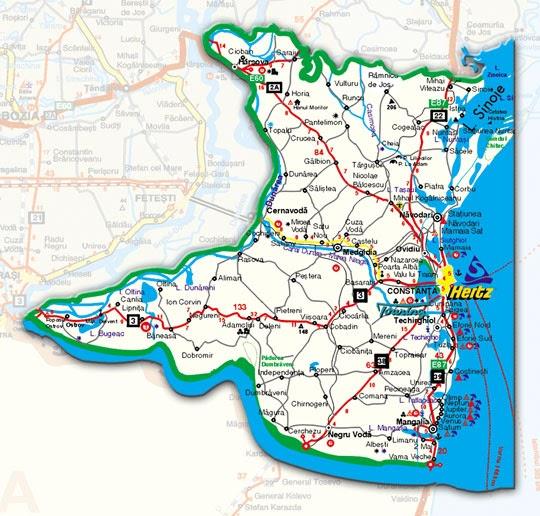 Harta Online Constanta | Harta