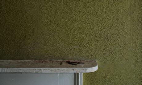 Empty mantelpiece