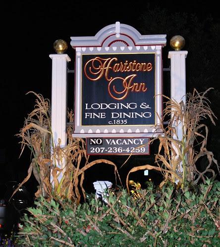 The Hartstone Inn Sign