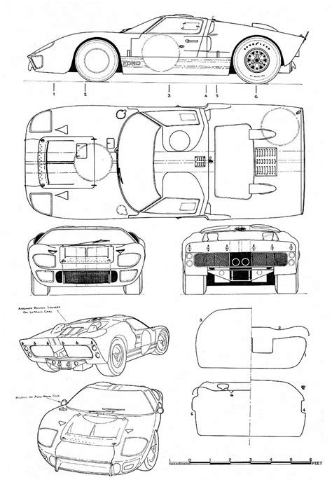 Historia Ford Gt 40 - Taringa!