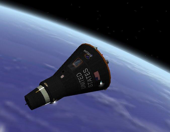 NASA Mercury Space Capsule