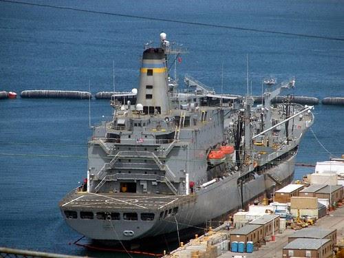 navy ship  Henry J Kaiser Class Fleet Oiler