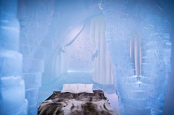 8 hoteles de hielo increíbles del mundo (27 fotos)