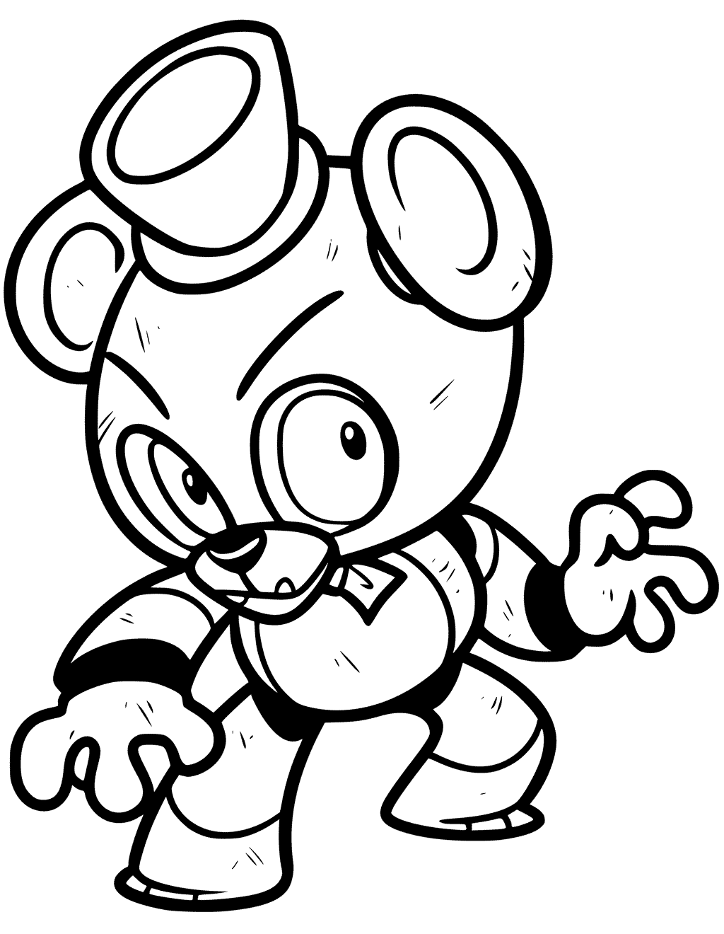 Freddy Coloring Pages at GetDrawings | Free download