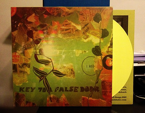 The Blind Shake - Key To A False Door - Yellow Vinyl by Tim PopKid