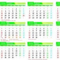 Kalender 2020 Yang Ada Tanggal Jawa