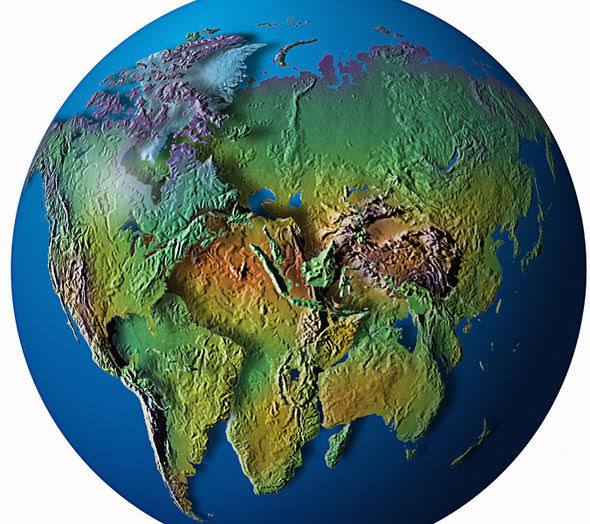 earth supercontinent collide earthquake 845581