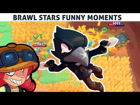 CROW the Stalker! Brawl Stars Funny Moments & Fails