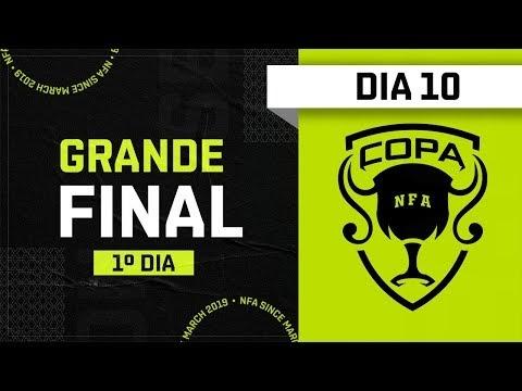 FREE FIRE AO VIVO: COPA NFA - DIA 10 - Liga NFA
