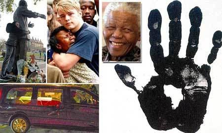 Nelson Mandela, tang lễ